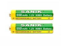 BT Synergy 3500 Series Cordless Phone Rechargeable Batteries - AAA 550mAh NiMH 1.2v battery - Set of 2 batteries