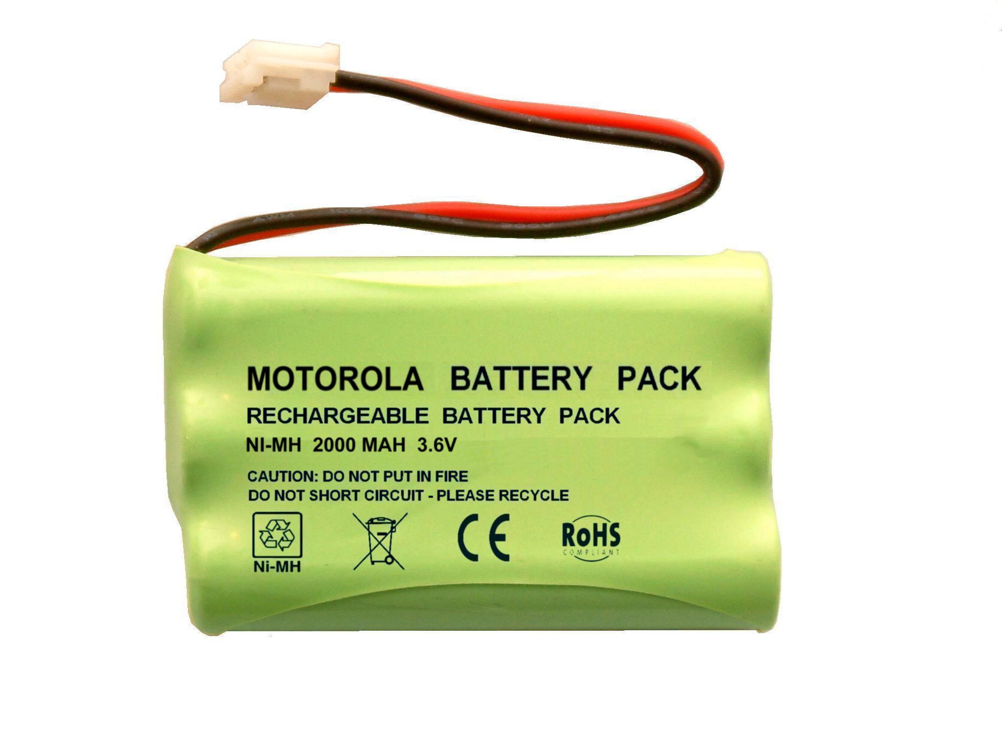 Replace Motorola MBP26 JUSTHIGH Ni-MH BATTERY AAA 3.6V 900mAh for Baby Monitor