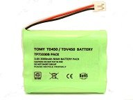 Tomy Walkabout Platinum Baby Monitor Rechargeable Battery Pack 3.6V 750mAh NIMH